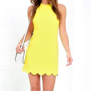 Lulu's Favorite Feeling Yellow Dress